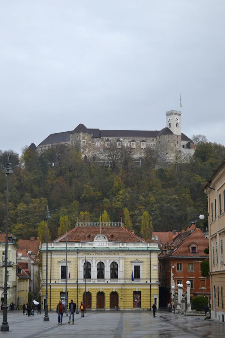 Castle-in-Ljubljana